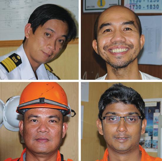 Crew of Rickmers Jakarta